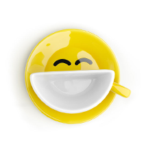 Smilecup, yellow